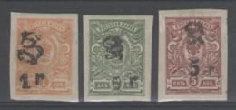 ARMENIE:  N°63+65+67 *       - Cote 26€ - - Arménie