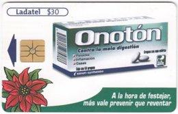 MEXICO A-914 Chip Telmex - Advertising, Pharmacy - Used - Mexico