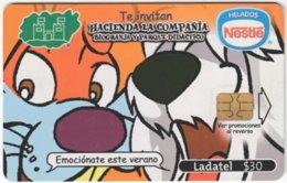 MEXICO A-917 Chip Telmex - Cartoon - Used - Mexico