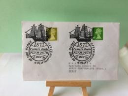 Marcophilie > Lettre > Off The Globe Circumnavigation (Francis Drake) - 13.12.1992 - Storia Postale