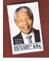 SUD AFRICA (SOUTH AFRICA) - SG 840 - 1994 PRESIDENT N. MANDELA      - USED - Sud Africa (1961-...)