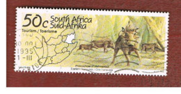 SUD AFRICA (SOUTH AFRICA) - SG 864 - 1995 TOURISM: TRANSVAAL (WARTHOG)      - USED - Usati