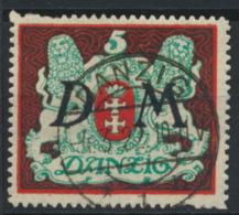 Danzig Dienst 21X O Gepr. Infla - Danzig