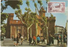 Carte-Maximum FRANCE N° Yvert 1222 (PERPIGNAN) Obl Sp Ill (Ed De France 19154)  RR - 1960-69