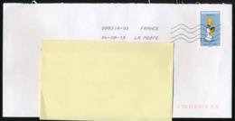 """2019 : Timbre Postal Adhésif """"BD, Falbala, Tous Irréductibles ! Astérix"""" Seul Sur Lettre - Storia Postale"""