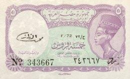 Egypt 5 Piastres, P-182k (L.1940) - UNC - Aegypten