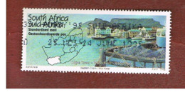 SUD AFRICA (SOUTH AFRICA) - SG 867 - 1995 TOURISM: CAPE TOWN WATERFRONT    - USED - Sud Africa (1961-...)