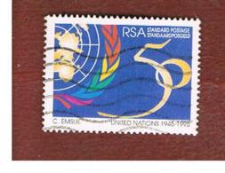 SUD AFRICA (SOUTH AFRICA) - SG 891 - 1995  O.N.U.  ANNIVERSARY     - USED - Usati