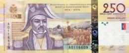 Haiti 250 Gourdes, P-276a (2004) - UNC - Haïti