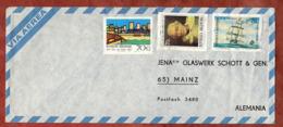 Luftpost, Mar Del Plata U.a., Buenos Aires Nach Mainz 1974? (79103) - Storia Postale