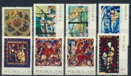 Polen 2102/09 ** Postfrisch Glasmalerei - 1944-.... Republik