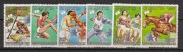 Tchad - 1983 - N°Yv. 416 à 419 + PA 262 à 263 - Olympics - Neuf Luxe ** / MNH / Postfrisch - Verano 1984: Los Angeles