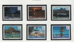 WP29  Polynésie °° 1979 132 137 Paysages Cote:3.20 - Polynésie Française