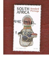 SUD AFRICA (SOUTH AFRICA) - SG 968 - 1997 CULTURAL HERITAGE: SOUTH NDEBELE FIGURE  - USED - Sud Africa (1961-...)