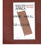 SUD AFRICA (SOUTH AFRICA) - SG 969 - 1997 CULTURAL HERITAGE: VENDA DOOR  - USED - Usati
