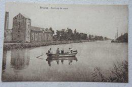 CPA BRECHT Zicht Op De Vaart Fabriek Usine - Brecht