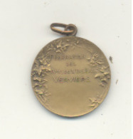 Médaille - Fédération Des Amis De L'OISEAU - VERVIERS - +/- 1925 - Exposition, Ornithologie, Tenderie,...(SL) - Professionals / Firms