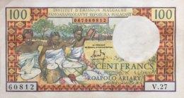 Madagascar 100 Francs, P-57 (1988) - UNC- - Madagaskar