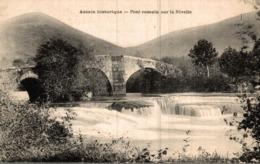 64 ASCAIN HISTORIQUE  PONT ROMAIN SUR LA NIVELLE - Ascain