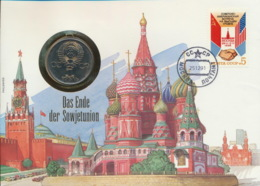 Sowjetunion 1 Rubel 1975 30 Jahre Ende WK II Numisbrief - Russland
