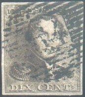 N°1 - Epaulette 10 Centimes, TB Margée, Obl; P.64 JEMEPPE Centrale - 14607 - 1849 Epaulettes
