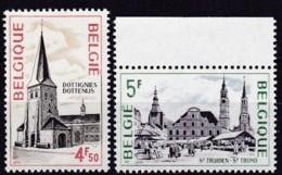 1975, Belgien, 1624/25,  MNH **,  Tourismus. - Belgium