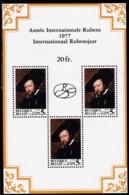 1977, Belgien, 1912/13 Block 46, MNH **,  Rubens-Gedenkjahr - Blocks & Sheetlets 1962-....