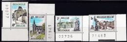 1977, Belgien, 1922/25, MNH **,  Tourismus. - Belgien