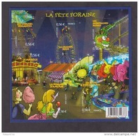 FRANCE / 2009 / Y&T N° 4378/4383 ** En BF Ou F4378 ** (Feuillet Fête Foraine) X 1 - Mint/Hinged