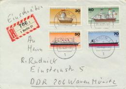 Berlin 544/77 Auf R-Brief In Die DDR - Berlin (West)