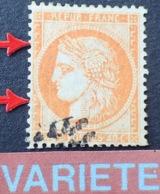 R1917/266 - CERES N°38 - Effigie Bien Dégagée - VARIETE ➤➤➤ Filet Ouest Complètement Absent - 1870 Siege Of Paris
