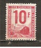 Francia-France Nº Yvert  Paquete Postal 10 (usado) (o) - Paquetes Postales