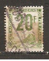Francia-France Nº Yvert  Paquete Postal 11 (usado) (o) - Paquetes Postales
