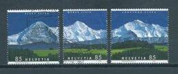 2006 Switzerland Complete Set Bergpanorama Used/gebruikt/oblitere - Used Stamps