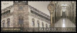 2018 MÉXICO PALACIO POSTAL, SELLO MNH, POSTAL PALACE,  ARCHITECTURE,  Communications, Institutions - Mexico
