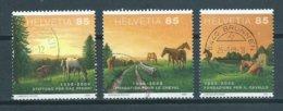 2008 Switzerland Complete Set Jura Landscapes Used/gebruikt/oblitere - Zwitserland
