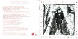 CD N°453 - LOU REED - MAGIC AND LOSS - Rock