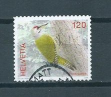 2008 Switzerland 120 Birds,oiseaux,vögel Used/gebruikt/oblitere - Zwitserland