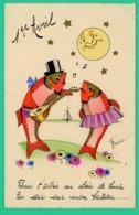 1er Avril - Humoristique Signée FRIC - 1° Aprile (pesce Di Aprile)