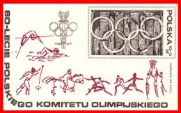 POLONIA AÑO 1979  HOJITA BLOQUE TEMATICA OLIMPIADAS - 1944-.... República