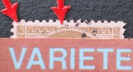 R1917/270 - CERES N°58 - GC 6308 : BORDEAUX LES SALINIERES - VARIETE ➤➤➤ Encoche Filet Droit + Coin N/E Rond - 1871-1875 Cérès