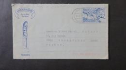 Vanuatu Entier Postal Aerogramme 1990 Pour Versailles - Vanuatu (1980-...)