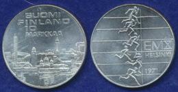 Finnland 10 Markkaa 1971 Leichtathletik Ag500 24,2g - Finland