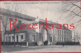 Hemixem Hemiksem Zicht Van Het Depot ZELDZAAM Armee Belge Military (duimspijkergaatje) - Hemiksem