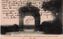 CP SAINT-YZANS-DE-SOUDIAC - Château Loudenne - Entrée Principale (Etendue Du Vignoble 50 Hectares) - France