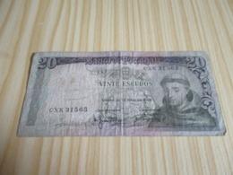 Portugal.Billet 20 Escudos 26/05/1954. - Portugal