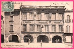 Bagnols Sur Cèze - Cèse - Hôtel De Ville - Bibliothèque - Musée - Animée - Edit. C. ARTIGE Fils - 1906 - Bagnols-sur-Cèze