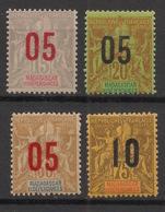 Madagascar - 1912 - N°Yv. 111 à 114 - Série Complète - Neuf Luxe ** / MNH / Postfrisch - Madagaskar (1889-1960)