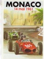 Grand Prix De Monaco 1961  -  Ferrari - Lotus  -  CPM - Grand Prix / F1