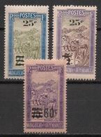 Madagascar - 1922-27 - N°Yv. 145 - 146 - 147 - 3 Valeurs Surchargées - Neuf Luxe ** / MNH / Postfrisch - Madagaskar (1889-1960)